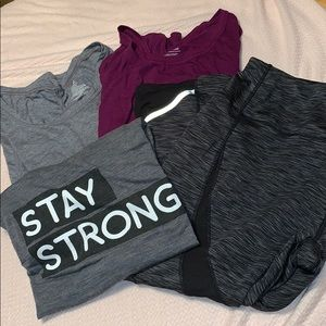 Plus size work out bundle